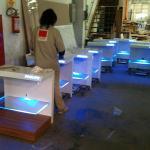 Fabricação de displays
